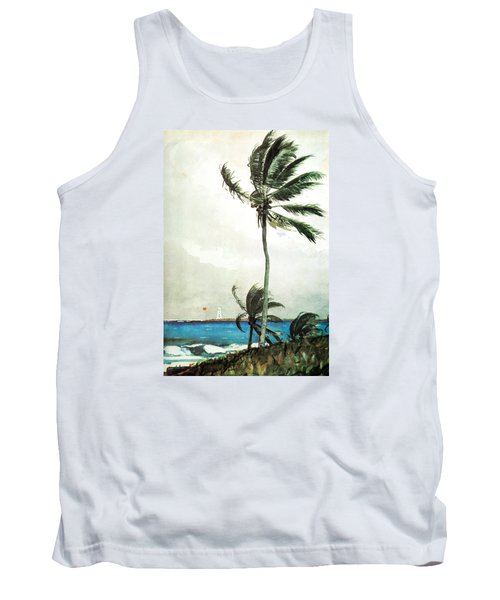 Palm Tree Nassau Tank Top by Celestial Images