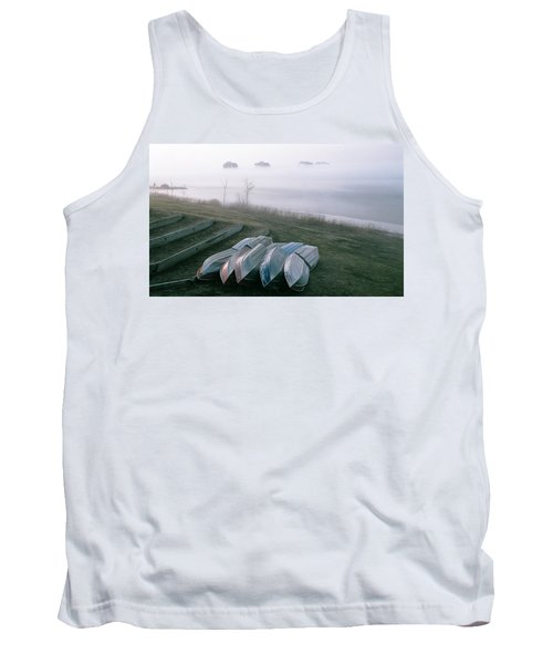 Tank Top featuring the photograph Patiently Waiting by David Porteus