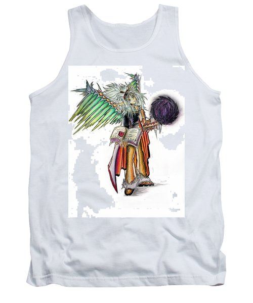 Pelusis God Of Law And Order Tank Top
