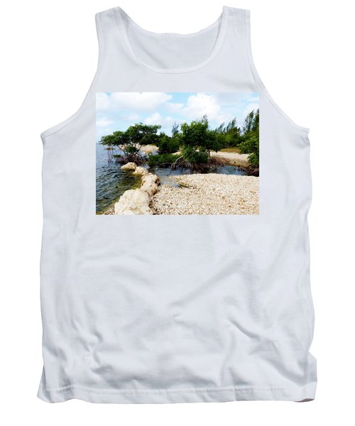 Tank Top featuring the photograph Reclamation 6 by Amar Sheow