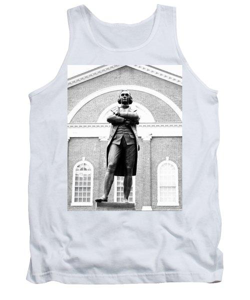 Samuel Adams Statue, State House Boston Ma Tank Top