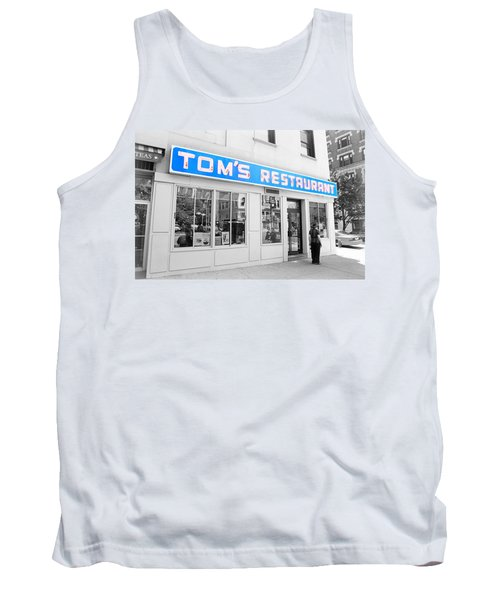 Seinfeld Diner Location Tank Top by Valentino Visentini