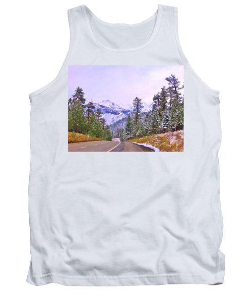 Tank Top featuring the photograph Sierra Storm by Marilyn Diaz