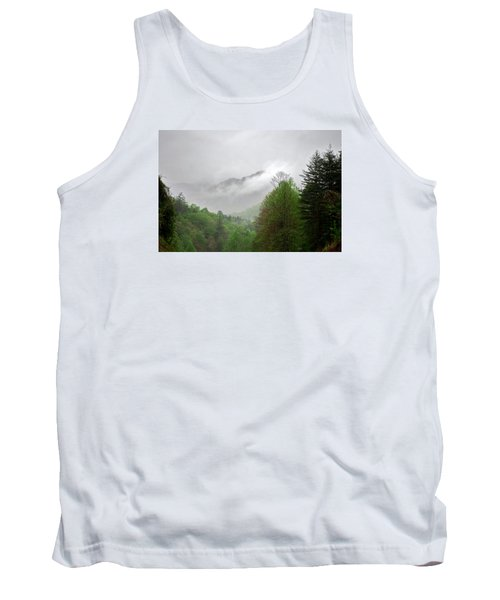 Smoky Mountains Tank Top by Lawrence Boothby