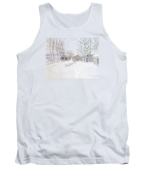 Snowy February Day Tank Top