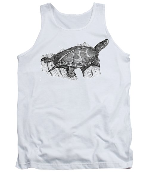Southern Painted Turtle Tank Top