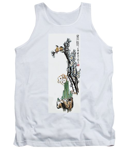 Tank Top featuring the photograph Spring Melody by Yufeng Wang