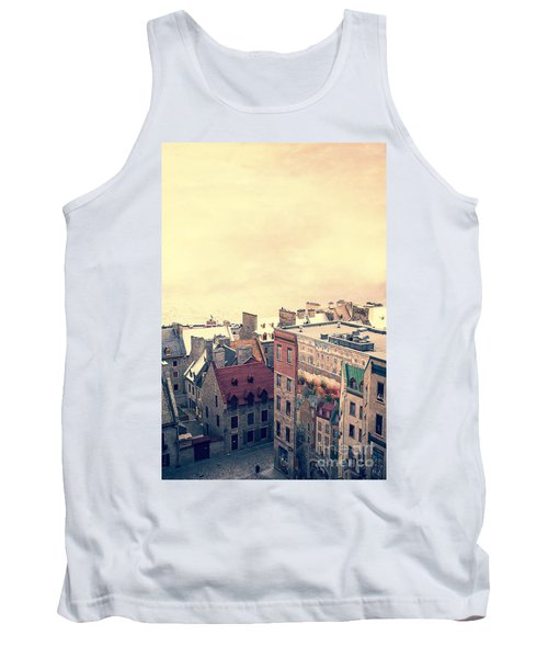 Streets Of Old Quebec City Tank Top
