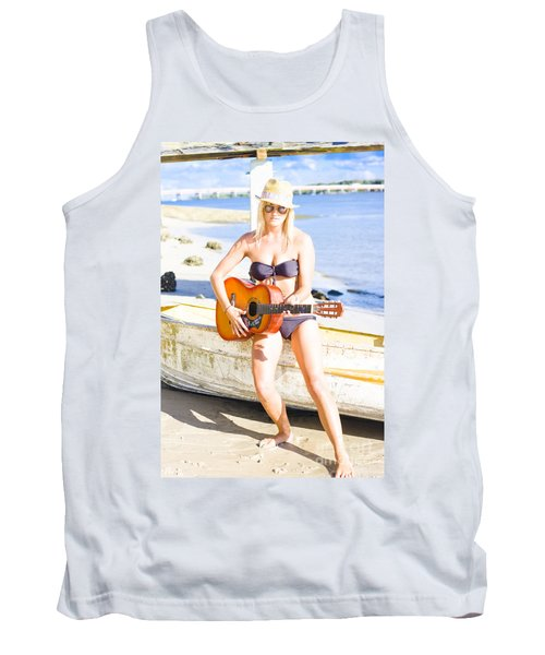 Summer Fun And Entertainment Tank Top