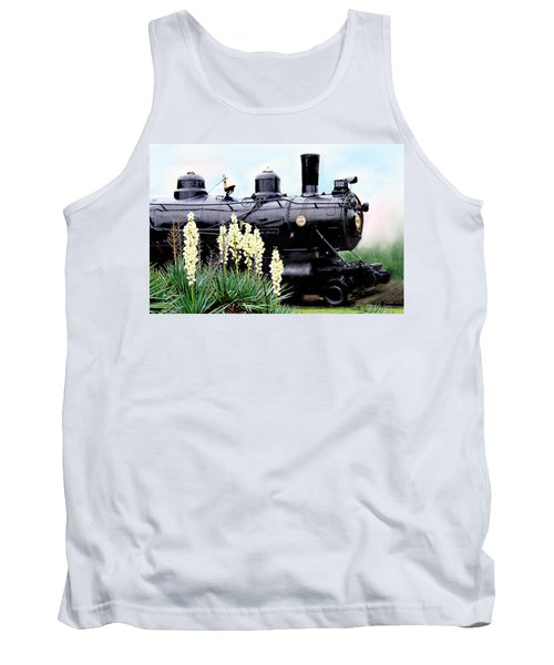 The Black Steam Engine Tank Top