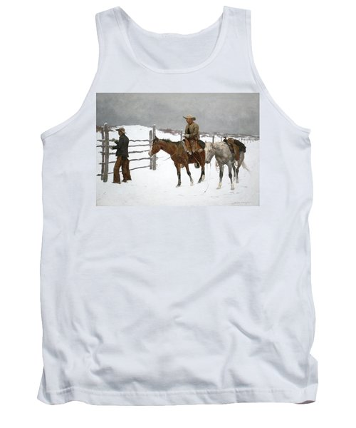 The Fall Of The Cowboy Tank Top