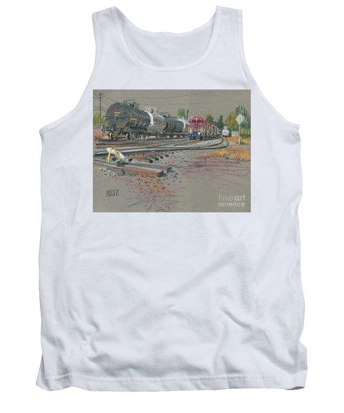 Train's Coming Tank Top