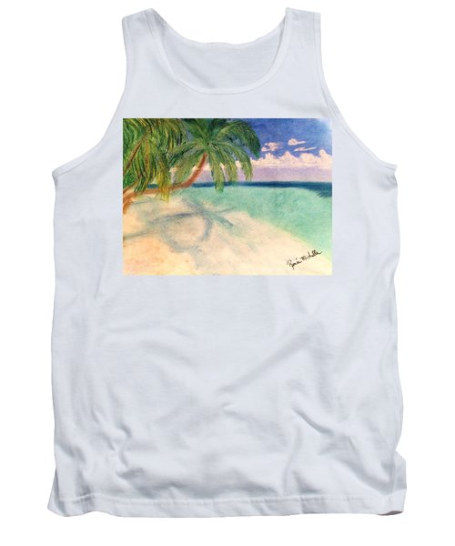 Tropical Shores Tank Top