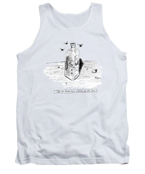 The 40-year-old Virgin Olive Oil Tank Top