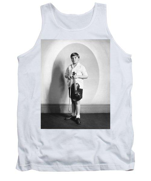 Violinist Yehudi Menuhin Tank Top