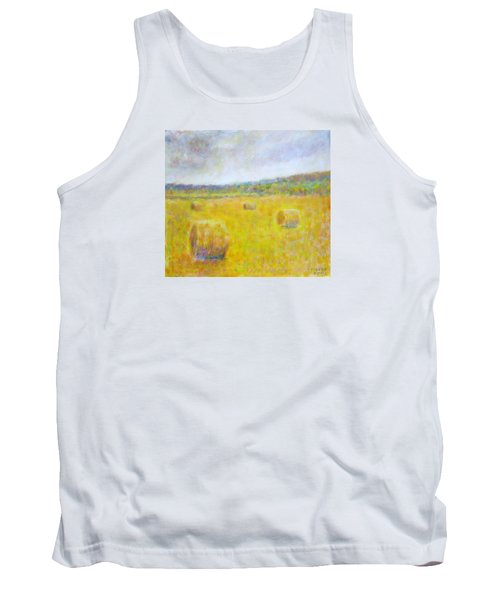 Wheat Bales At Harvest Tank Top