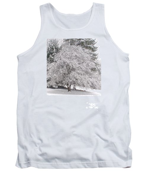 White As Snow Tank Top