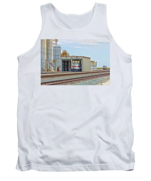 Foster Farms Locomotives Tank Top by Jim Thompson