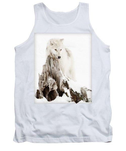 Arctic Wolf Pup Tank Top