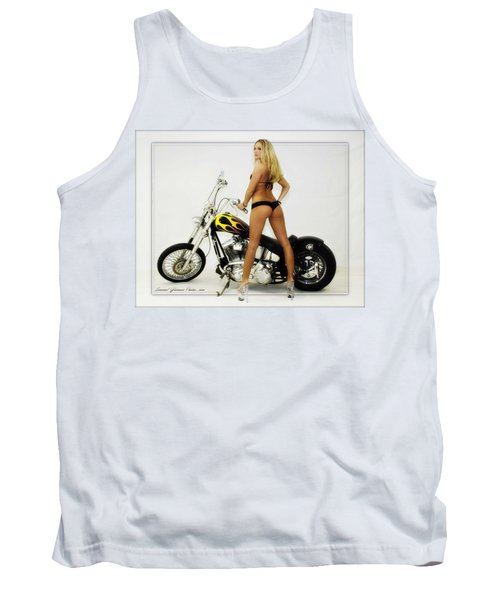 Models And Motorcycles Tank Top