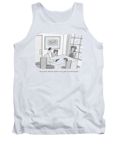 As You Know Tank Top