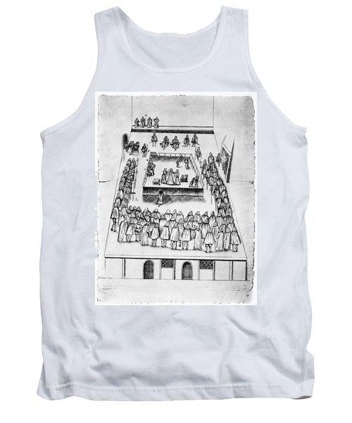 Mary, Queen Of Scots (1542-1587) Tank Top