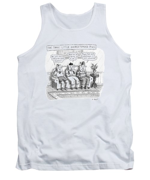 The Three Little Overextended Pigs Tank Top
