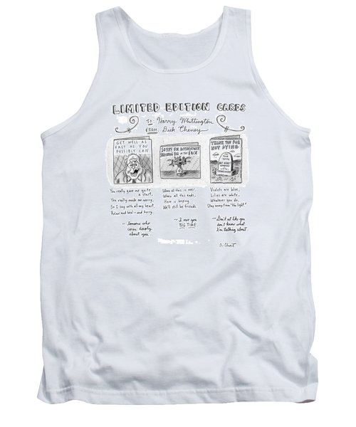 Limited Edition Cards Tank Top