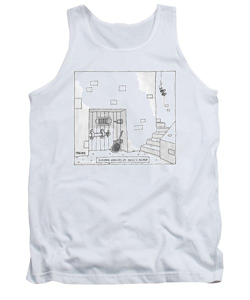 Captionless Tank Top