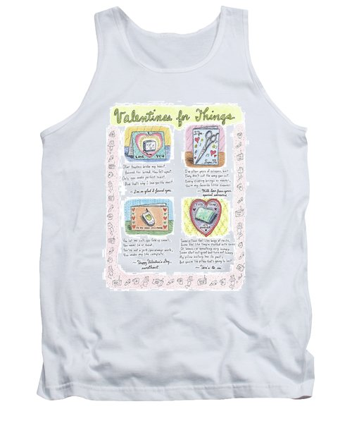 Valentines For Things Tank Top