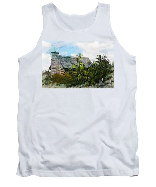 Tank Top featuring the photograph 1810 Living by Robert Pearson