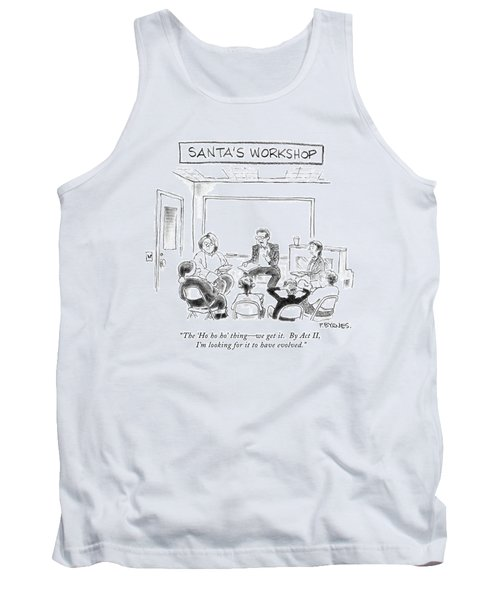 The 'ho Ho Ho' Thing - We Get It.  By Act II Tank Top