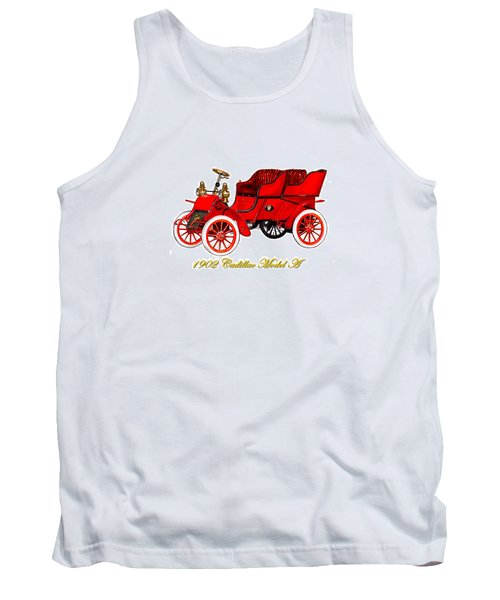 1902 Cadillac Model A Runabout Tank Top