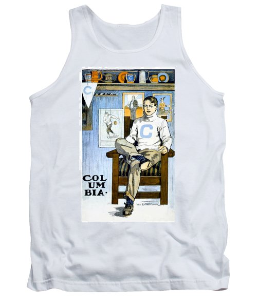 1902 - Columbia University Sports Poster - Color Tank Top