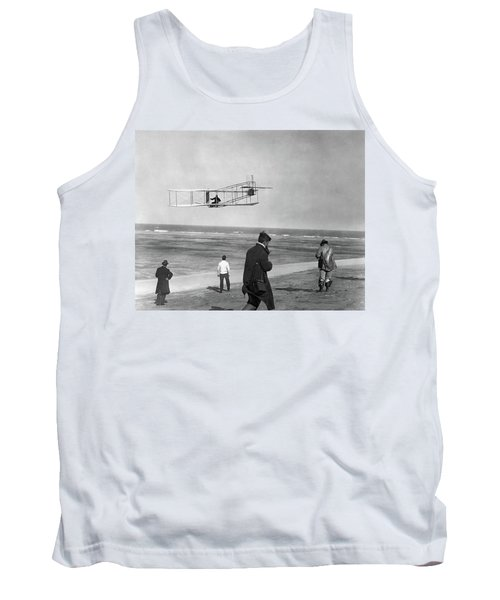 1911 One Of The Wright Brothers Flying Tank Top