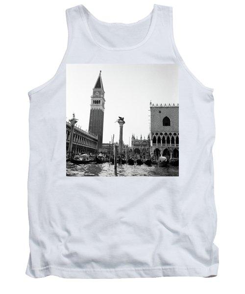 1920s 1930s Venice Italy Piazza San Tank Top