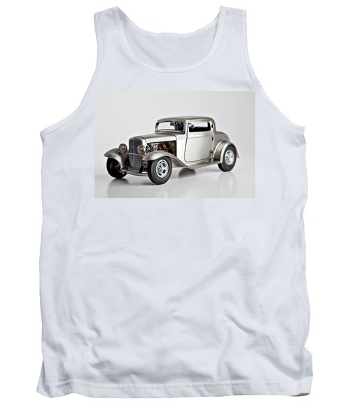 Tank Top featuring the photograph 1932 Ford 3 Window Coupe by Gianfranco Weiss