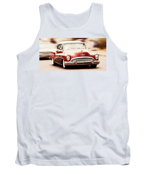 Classic Car Tank Top featuring the photograph 1953 Buick Super by Aaron Berg