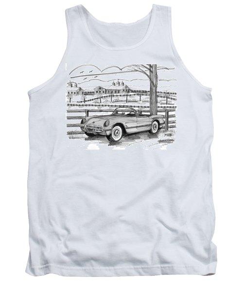 1953 Chevrolet Corvette Tank Top