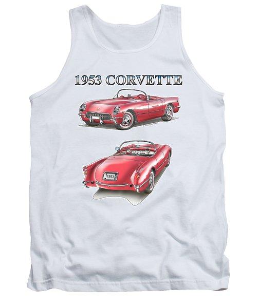 1953 Corvette Tank Top