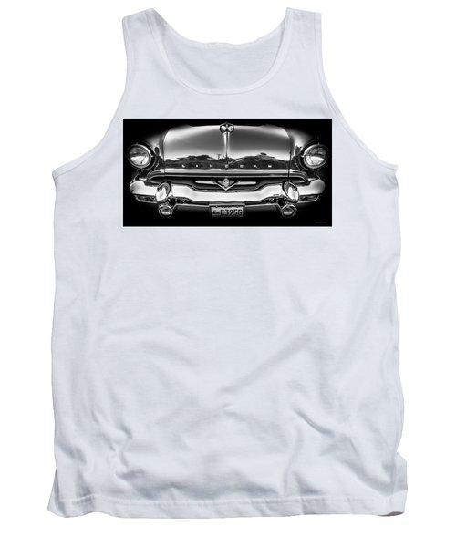 Tank Top featuring the photograph 1953 Lincoln - Capri by Steven Milner