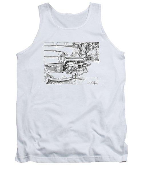 1954 Cadillac Study Tank Top