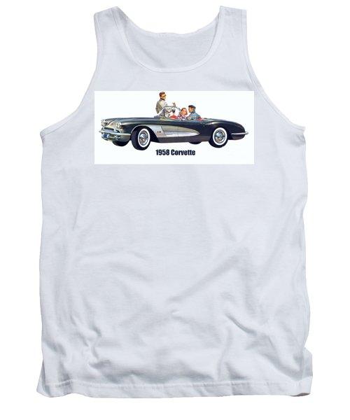 1958 Chevrolet Corvette Tank Top