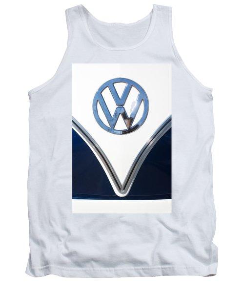 1958 Volkswagen Vw Bus Emblem Tank Top