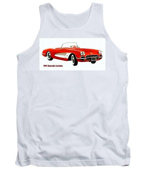 1959 Corvette Tank Top