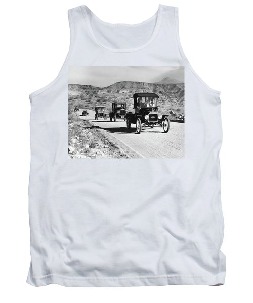 1960s Line Of 1920s Model T And 1930s Tank Top