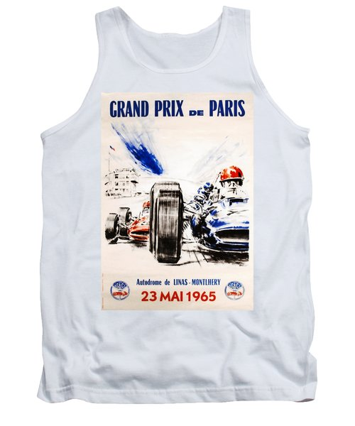 1965 Grand Prix De Paris Tank Top