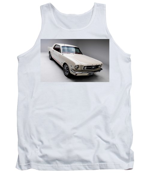 Tank Top featuring the photograph 1966 Gt Mustang by Gianfranco Weiss