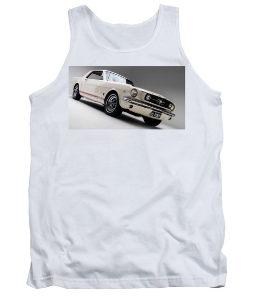 Tank Top featuring the photograph 1966 Mustang Gt by Gianfranco Weiss