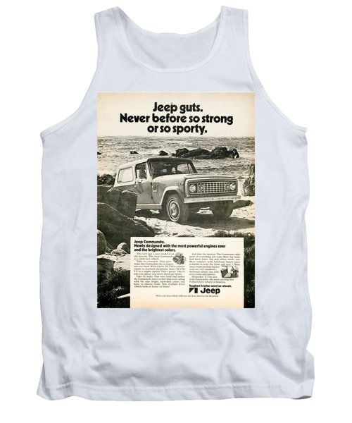 1972 Jeep Commando Tank Top